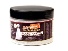 Colorant alimentaire blanc pastel