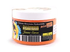 Colorant alimentaire jaune citron