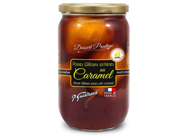 Poires Williams au caramel - 850 g - Guintrand