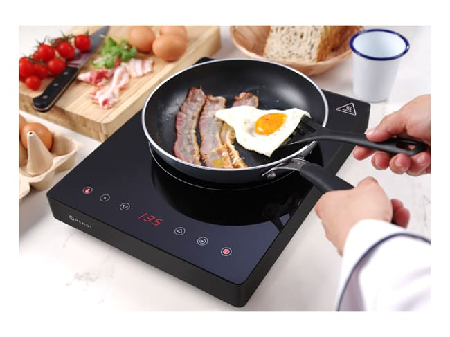 Plaque de cuisson à induction 2000 W - Black Line - Hendi
