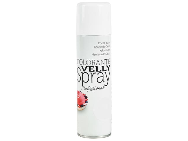 Colorant en spray effet velours - 250 ml - jaune - Velly Spray