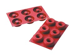 Moule silicone 6 donuts