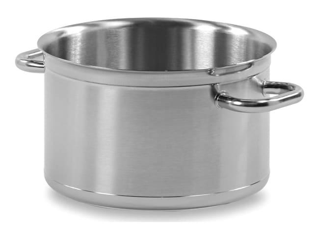 Braisière cylindrique inox Tradition - Ø 28 cm - Matfer