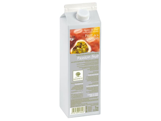 Purée de fruit de la passion - 1 kg - Ravifruit