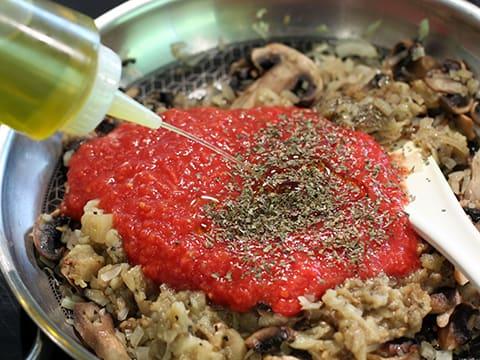 Aubergines farcies fa on italienne recette de cuisine illustr e - Aubergine grillee a l italienne ...