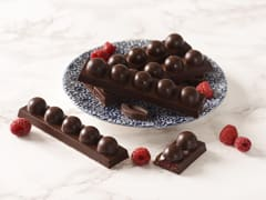Barres chocolatées aux fruits rouges