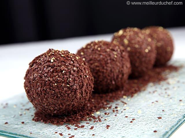 Boule meringuée au chocolat