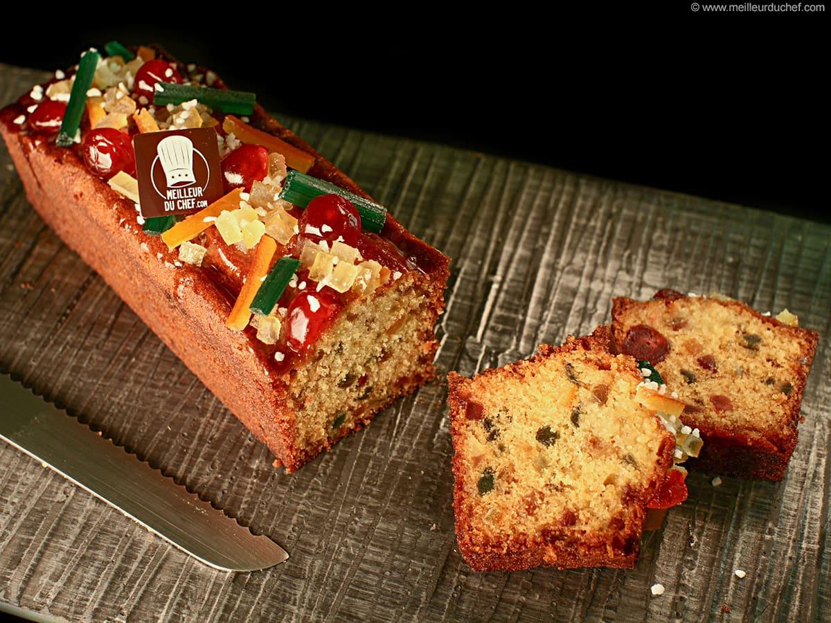 Cake Fruits Confits La Recette Illustrée Meilleurduchefcom