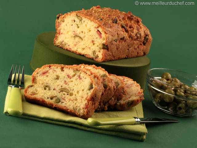 Cake Olive Avec  Oeuf
