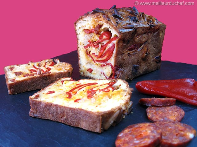 Cake Chorizo Brebis
