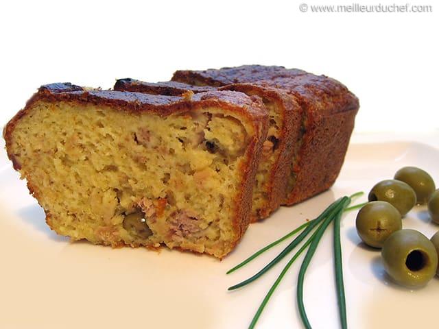 Cake Au Thon Olives Faciles