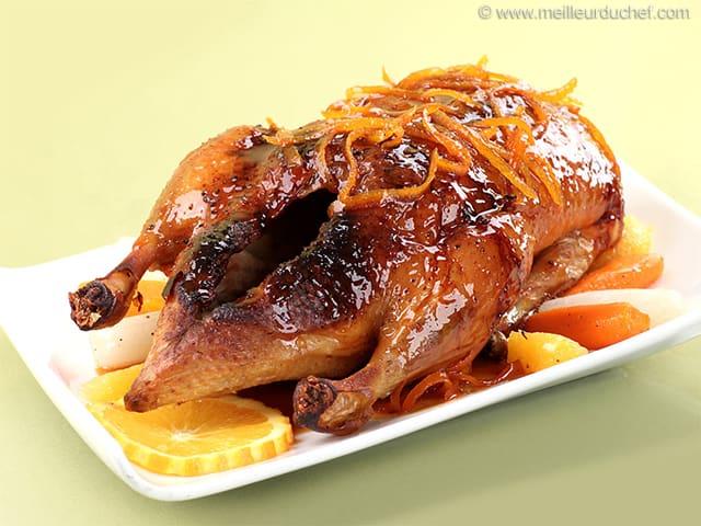 Canard l 39 orange recette de cuisine illustr e - Recette manchons de canard en cocotte ...