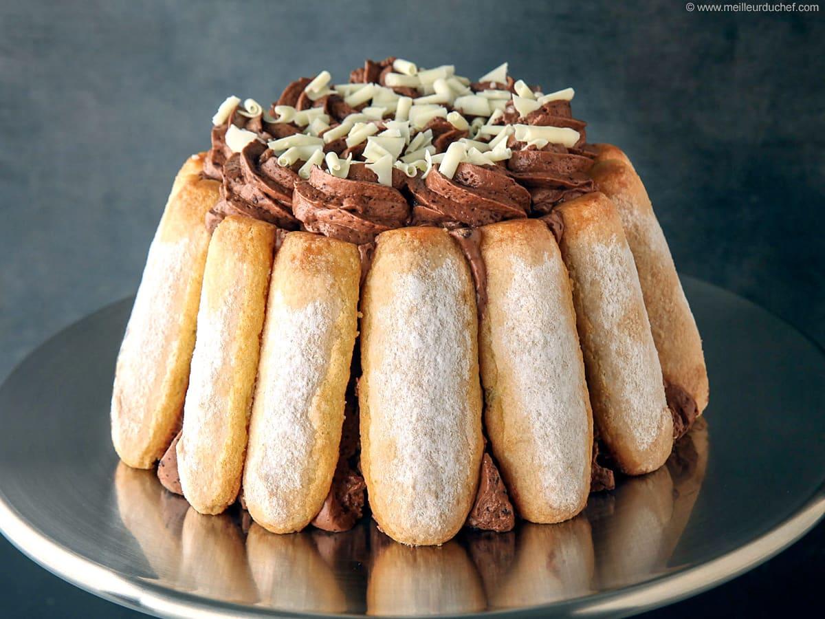 Recette Charlotte Au Chocolat Sans Oeuf charlotte chocolat