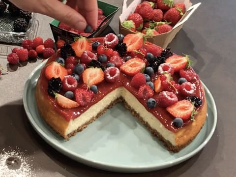 Cheesecake aux fruits rouges - 48