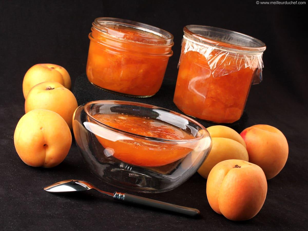 confiture abricot 5 kg
