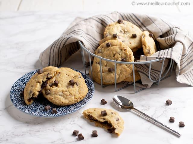 Cookies Au Chocolat Cœur Fondant