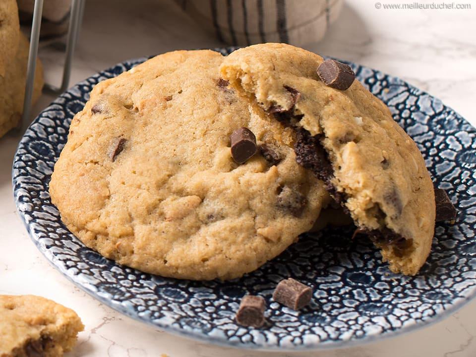 Cookies Au Chocolat Recette De Cuisine Illustree Recette Rapide Meilleur Du Chef