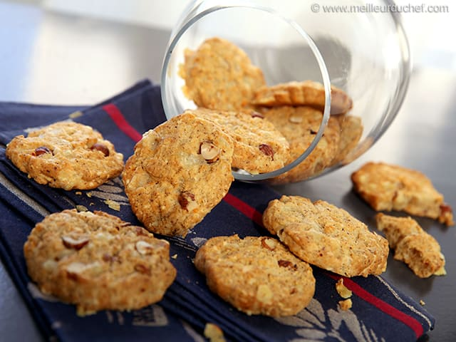 cookies sal s au comt recette de cuisine illustr e. Black Bedroom Furniture Sets. Home Design Ideas