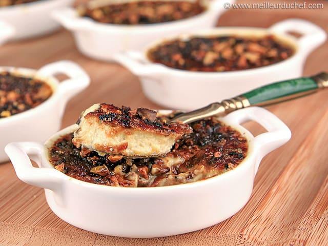Cr me br l e de foie gras aux pistaches la recette avec photos - Recette de foie gras ...