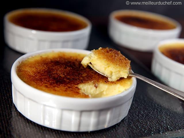 creme brulee recette en francais