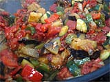 Ratatouille en crumble - 15