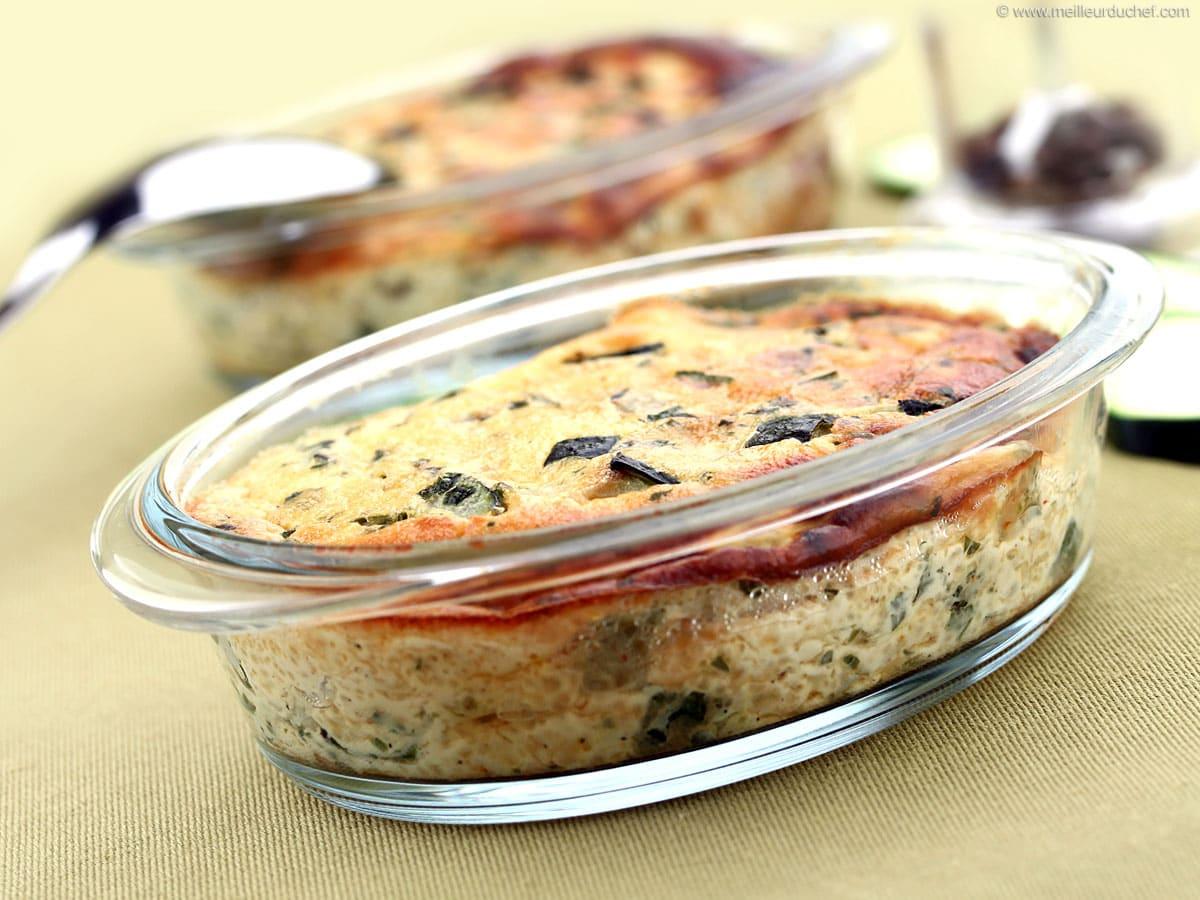 Flan de courgettes - Fiche recette avec photos - MeilleurduChef.com