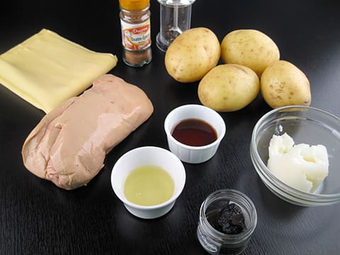feuillet de foie gras truff la recette illustr e. Black Bedroom Furniture Sets. Home Design Ideas