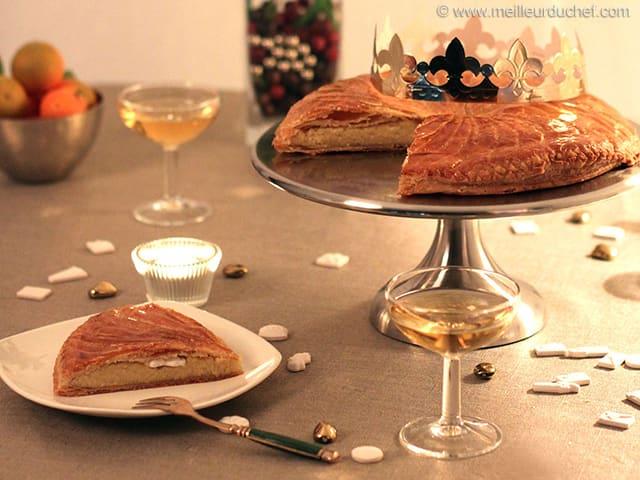 Galette des rois la frangipane recette de cuisine avec for Galette des rois a la frangipane