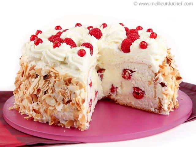 Gâteau des anges surprise - Recette de cuisine illustrée ...