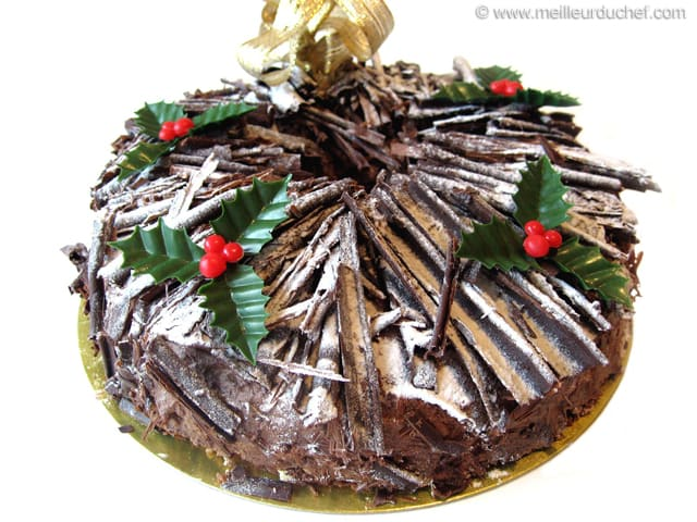 Gâteau de Noël chocolat/orange