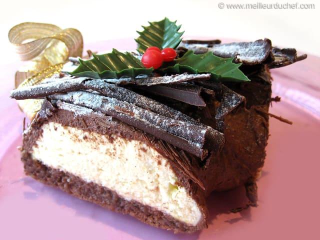 G teau de no l chocolat orange recette de cuisine avec photos - Recette de noel dessert ...