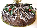 Gâteau de Noël chocolat/orange - 33