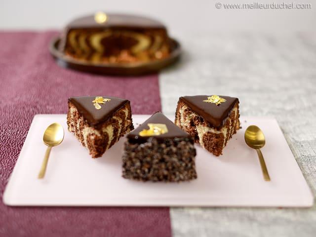 Gateau Au Yaourt Au Chocolat La Recette Illustree Meilleurduchef Com