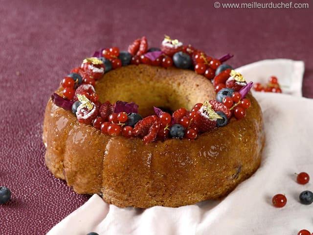 Gateau Au Yaourt Aux Fruits Rouges Recette De Cuisine Avec Photos