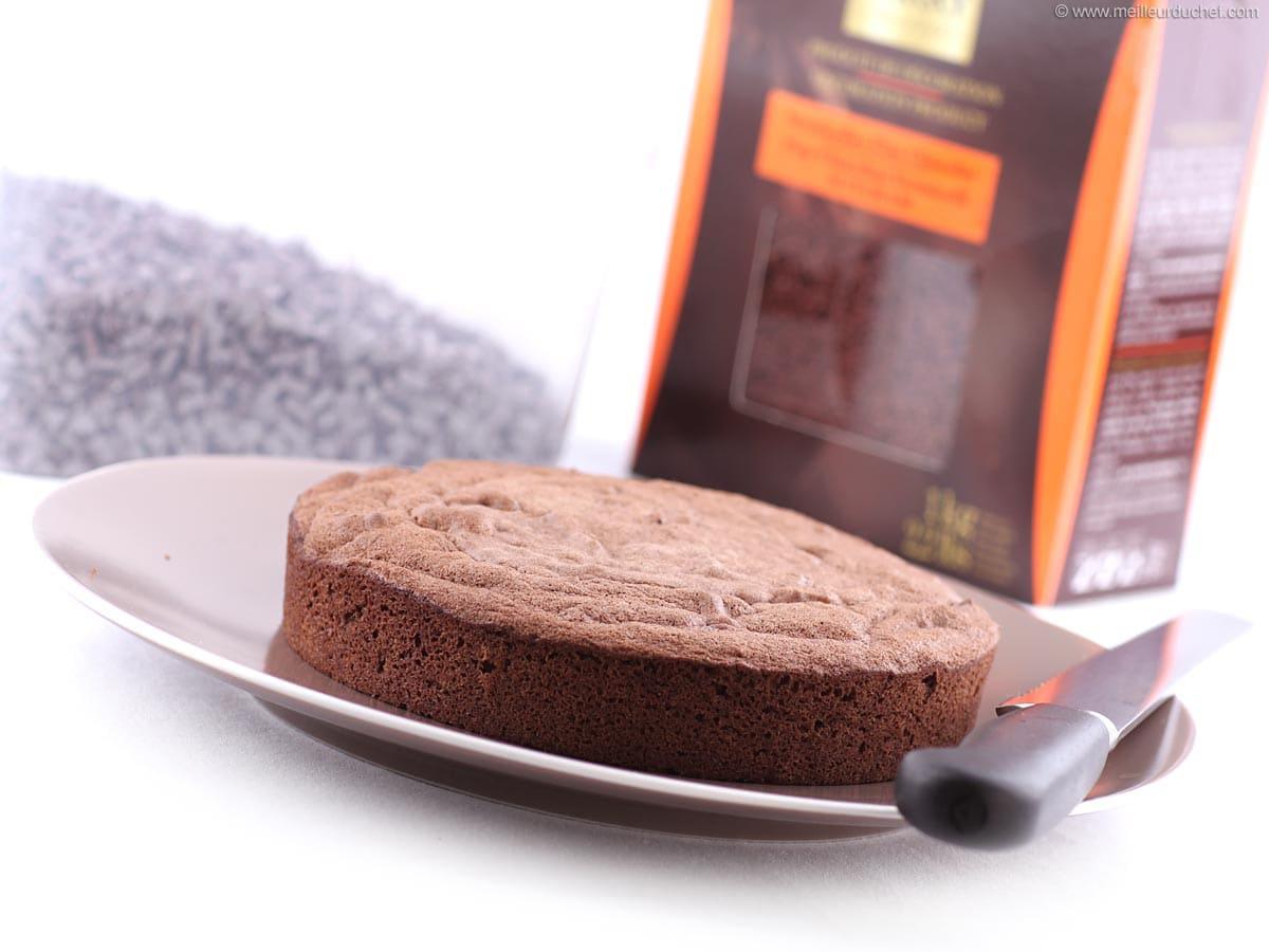 Genoise Au Chocolat Notre Recette Illustree Meilleur Du Chef