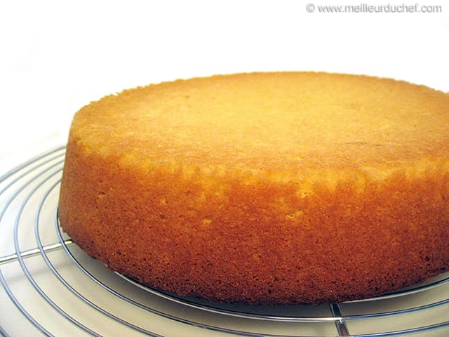 Recette Sponge Cake Nature