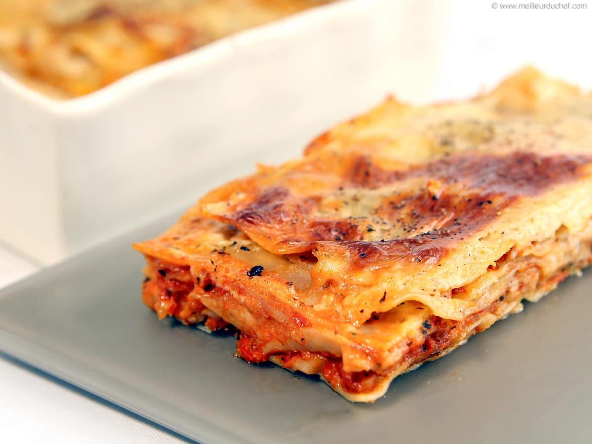 Lasagnes Bolognaise Fiche Recette Illustree Meilleur Du Chef