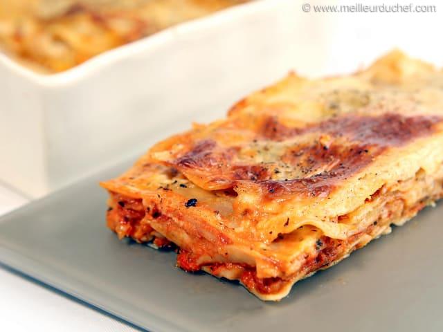 Lasagne Idee Recette.Lasagnes Bolognaise