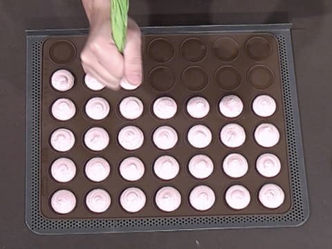 Macarons framboise et passion - 31