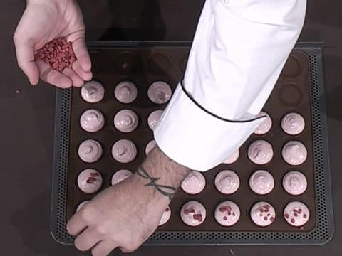 Macarons framboise et passion - 32