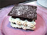 Mille-feuille chocolat/framboise - 24