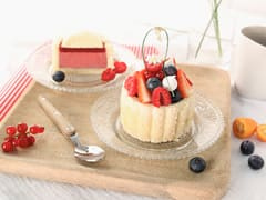 Mini-charlotte aux fruits rouges