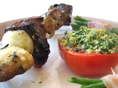 Mixed-grill en brochettes