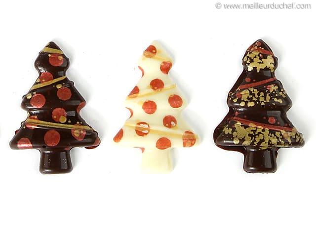 moulage pere noel en chocolat