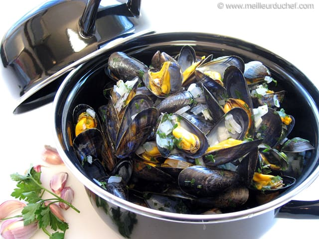 moules marini res notre recette avec photos. Black Bedroom Furniture Sets. Home Design Ideas