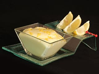Mousse au citron