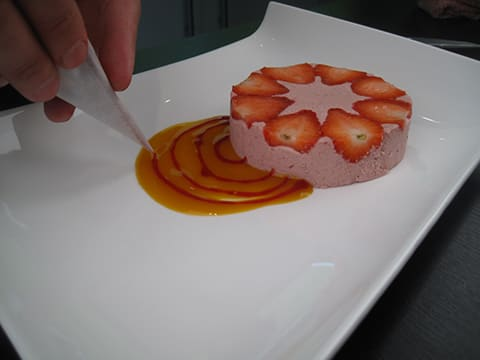 Mousse à la fraise et sa chantilly - 25