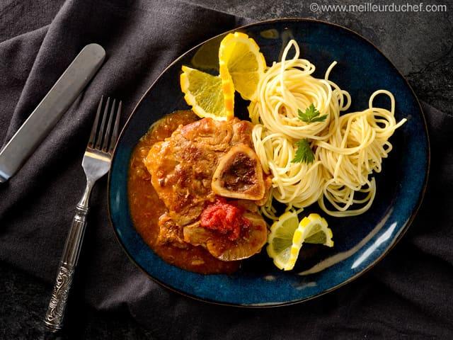Recettes italiennes fiches recettes la pasta italienne - Osso bucco veau recette ...