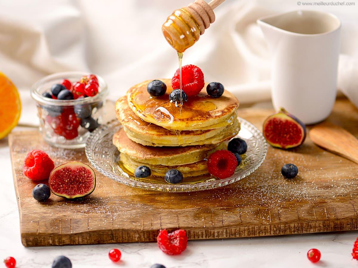 Recette pancakes - Meilleur du Chef