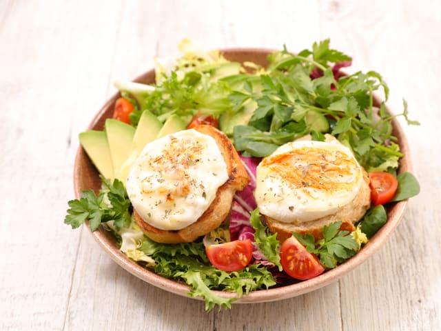 Recette Salade Chevre Chaud
